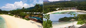 Views around Avani Seychelles, Mahe
