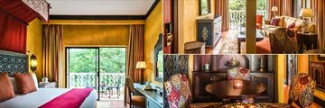 Avani Victoria Falls Resort, Avani Suite Bedroom, Living Room and Dining Area