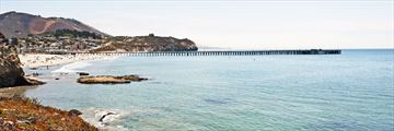 Avila Beach and pier, San Luis Obispo