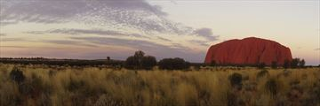 Ayers Rock at dusk