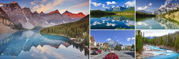 Banff National Park, Townscape & Yoho National Park