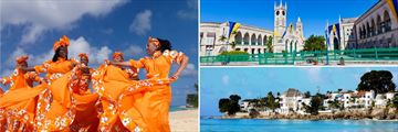 Caribbean Dancers, Barbados Bridgetown, Caribbean Houses on the Coast