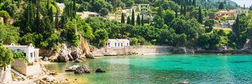 Bay in Paleokastritsa, Corfu
