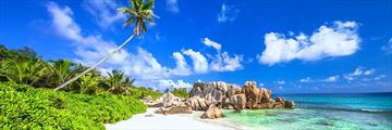 Beach in La Digue, Seychelles