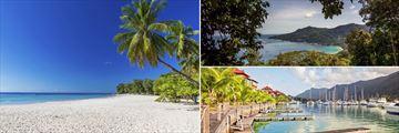 Beau Vallon & Eden Island, Mahe