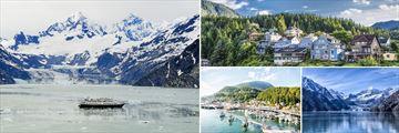Ketchikan, Juneau & Glacier Bay, Alaska