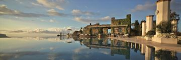 The infinity pool at Belmond Hotel Caruso