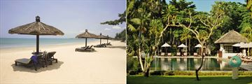 Belmond Jimbaran Puri, Beach and Infinity Pool