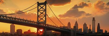 Benjamin Franklin Bridge, Philadelphia