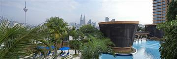 Berjaya Times Square Hotel, Pool and Skyline