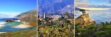Big Sur, Santa Barbara & 17 Mile Drive, California
