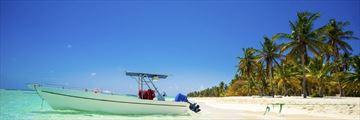 Beautiful beach in the Dominican Republic
