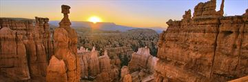 Bryce Canyon National park at sunrise, Utah