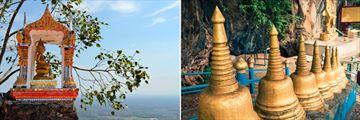 Fasincating temples in Krabi