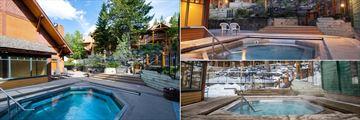 Buffalo Mountain Lodge, Outdoor Jacuzzi Pool