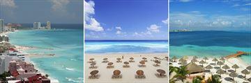 Cancun beaches & coastline