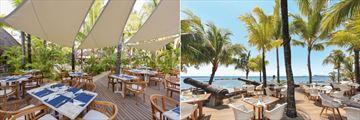 Canonnier Beachcomber Golf Resort & Spa, Frangipanier and Navigator Restaurants