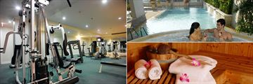 Cape House Langsuan Serviced Apartments, Fitness Centre, Pool, Whirlpool and Sauna