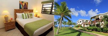 Carimar Beach Club, One or Two Bedroom Meads Villas Bedroom and Exterior