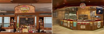 Carnival Liberty's Red Frog Rum Bar and Guy's Burgers