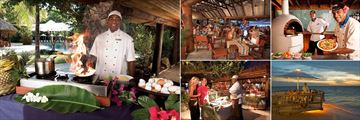 Dining at Lorizon at Castaway Island