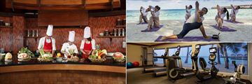 Centara Ras Fushi Resort & Spa, Cooking Class, Yoga and Fitness Centre