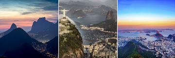 Cityscapes of Rio De Janeiro & Christ the Redeemer