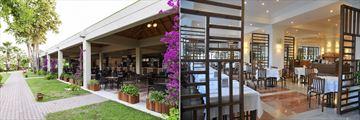 The Bar and Veranda Restaurant at Club Tuana Fethiye