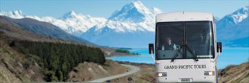 Escorted tours around New Zealand's South Island