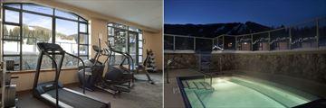 Coast Sundance Lodge, Fitness Room and Outdoor Hot Tub