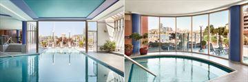 Indoor Pool at Coast Victoria Hotel & Marina by APA