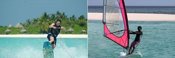 Coco Palm Dhuni Kolhu, Wakeboarding and Windsurfing
