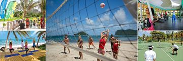 Coconut Bay Beach Resort & Spa, Kitesurfing, Beach Volleyball, Gym, Tennis and Yoga