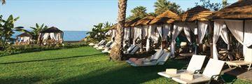 Constantinou Bros Athena Royal Beach Hotel cabanas