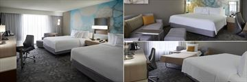 Courtyard by Marriott Toronto Airport, Double Queen Room, King Room and King with Sofa Bed Room