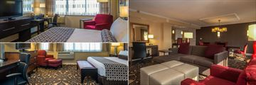 King Guest Room, Suite and Deluxe Room at Crowne Plaza Los Angeles Airport