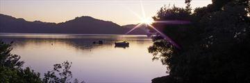 Dawn at Marlboroug Sounds