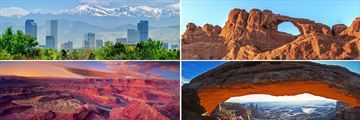 Denver, Arches National Park, Moab & Canyonlands