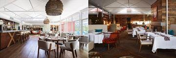 Desert Gardens Hotel, Mangata Bistro & Bar and Arnguli Grill & Restaurant