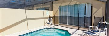 Disney Area Platinum Town Homes, Pool and Lanai