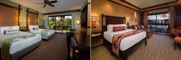 Disney's Polynesian Resort, Accommodation