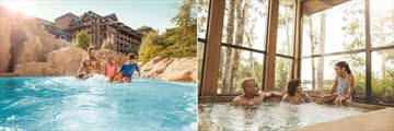 Pool and Jacuzzi at Disney's Wilderness Lodge
