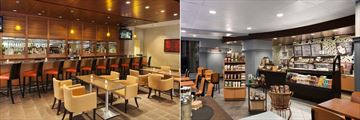 DoubleTree by Hilton Hotel Boston Downtown, Bar Lounge and Starbucks