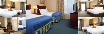Doubletree Suites by Hilton Hotel Lexington, Bedrooms