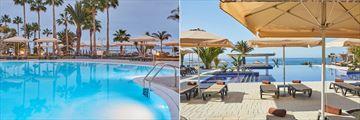 Barracuda Pool and Piscina Sea Legs pool at Dreams Lanzarote Playa Dorada Resort & Spa