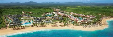 Aerial View of Now Onyx Punta Cana