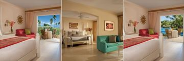 Dreams Punta Cana Resort & Spa, Tropical View Suite, Honeymoon Suite and Swimout Suite