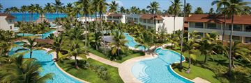 The main pool at Dreams Royal Beach Punta Cana