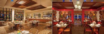 Portofino and World Cafe at Dreams Royal Beach Punta Cana