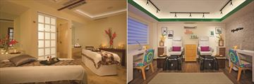 Dreams Sands Cancun Resort & Spa, Spa Treatment Room and Beauty Salon